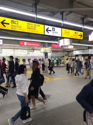 柏駅からのアクセス1